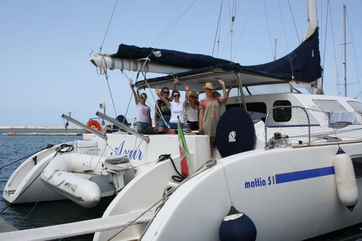 Yoga Holidays aboard sailing catamaran, Sicily, Italy, 11-18, July, 2015