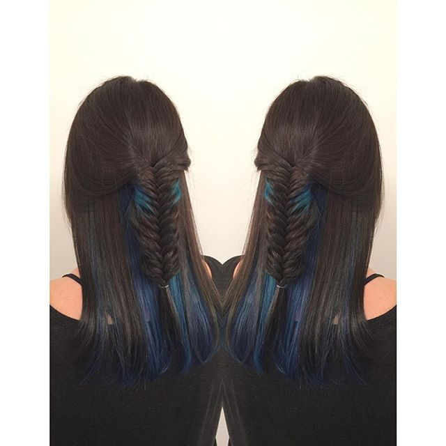 Top 100 peek a boo highlights photos Blue peekaboos  @askhairstudio @lee.gangbar #blue #bluehair #turqoisehair #highlights #peekaboohighlights #hair #haircolor #joico #joicocolorintensity #olaplex #yvr #vancouver #richmond #stevestonvillage #steveston #vancouverstylist See more http://wumann.com/top-100-peek-a-boo-highlights-photos/