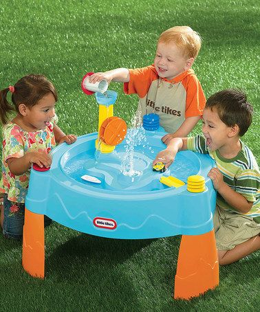 Another great find on #zulily! Island Adventure Water Table #zulilyfinds