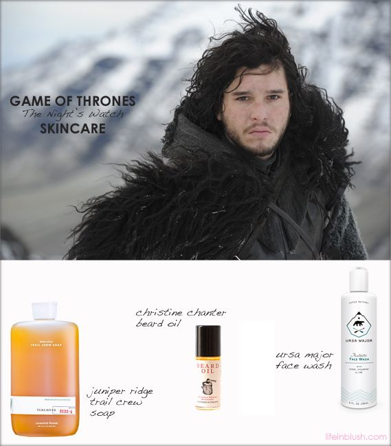 game of thrones skincare | life in blush