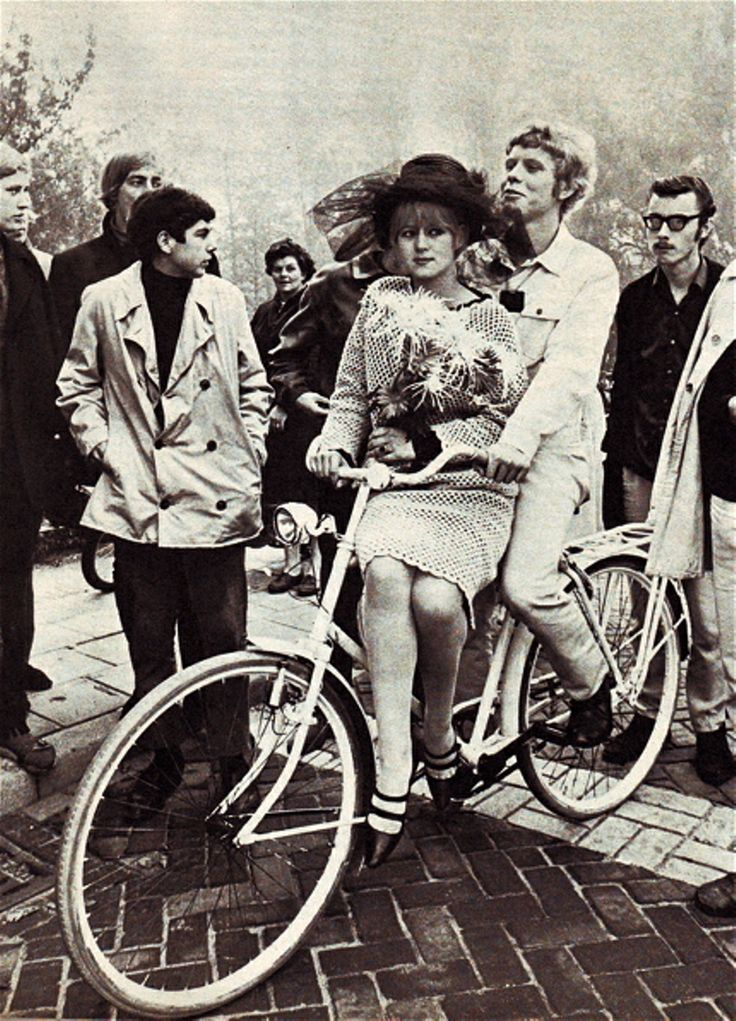 Matrimonio provo ad Amsterdam nei Sessanta