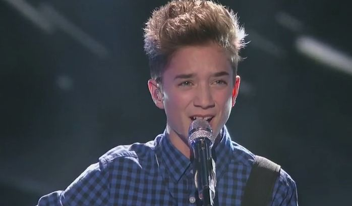 "Daniel Seavey performed his version of ""Lost Stars"" by Adam Levine on American Idol Season 14 Top 11 'Movie Week' live performance Thursday night, March 19, 2015."