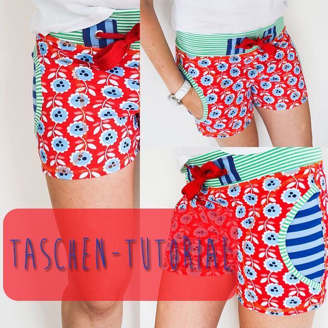 Tutorial Taschen in Basic Hose