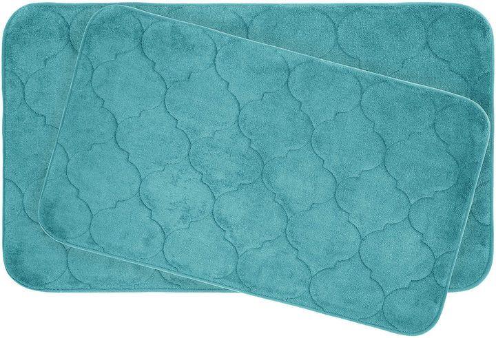 Asstd National Brand Bounce Comfort Faymore 2-pc. Memory Foam Bath Mat Set