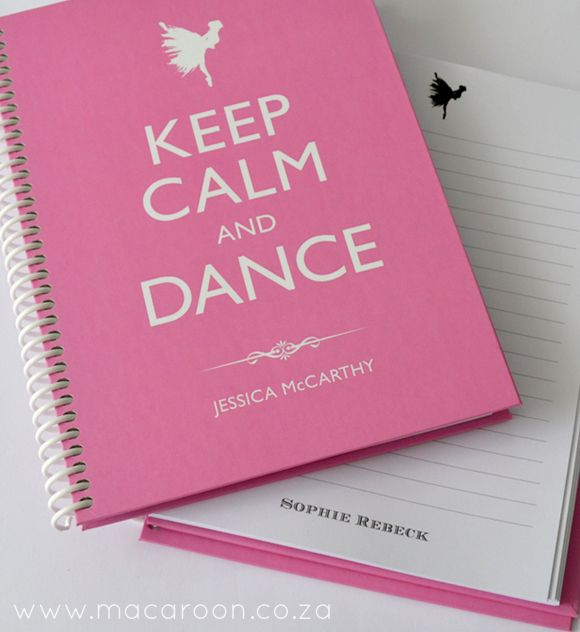 Ballet Teachers Perfect Pressie - Personalise and order online at www.macaroon.co.za