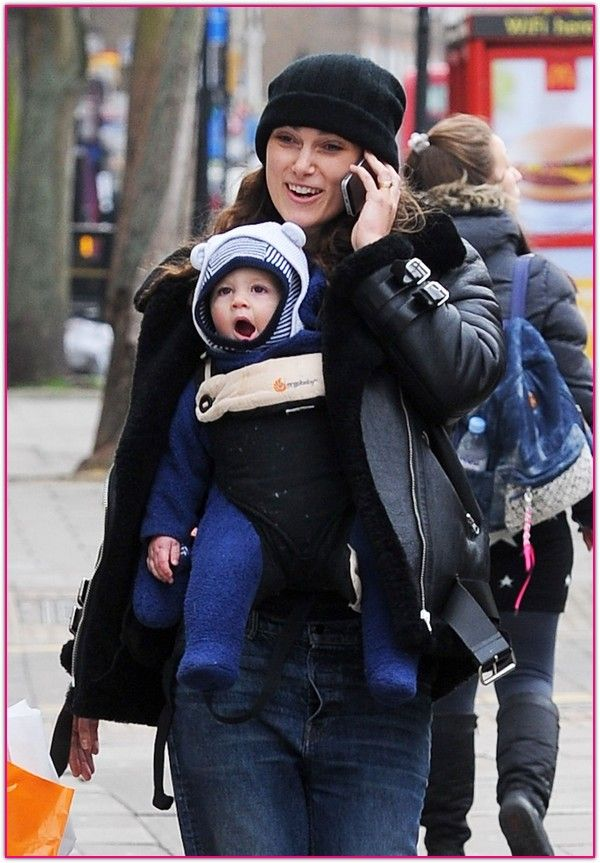 Keira Knightley And James Righton Out And About With Daughter Edie In London