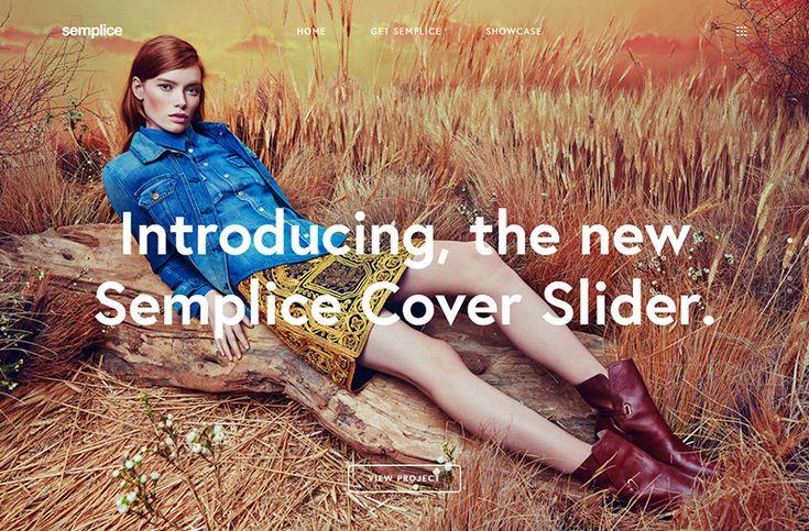 Semplice Coverslider | Web Design File