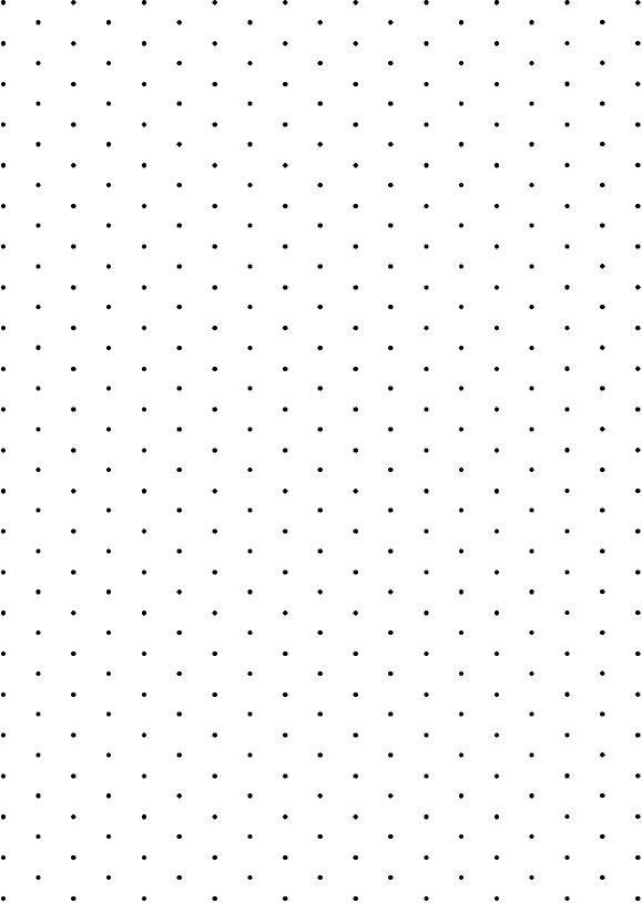 1cm isometric dot paper