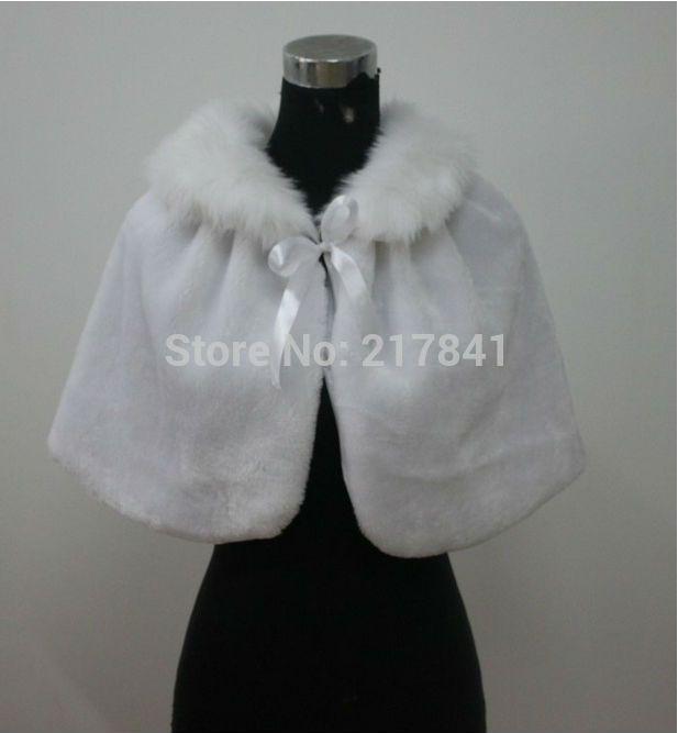 pas cher nouveau blancivoire mariage chle chle de marie enveloppez jacket haussement de fausse - Bolero Fourrure Mariage Pas Cher