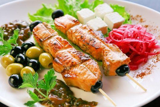 9. Маринад из апельсинового сока и имбиря для лосося