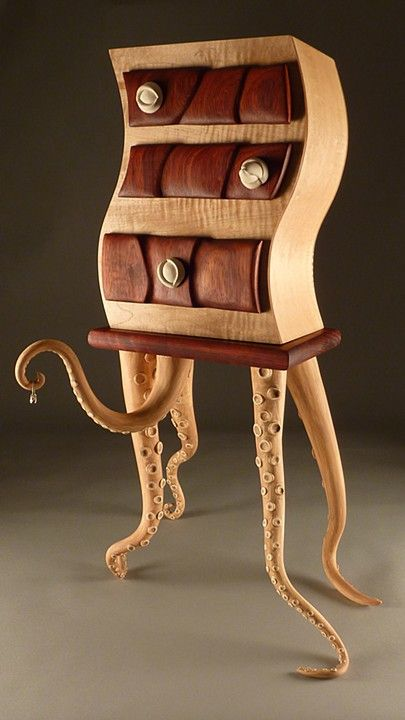 Jewelry Box inspired by the Octopus