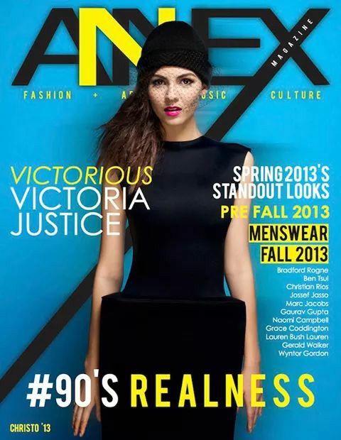 Annex Magazine + VICTORIOUS Victoria Justice