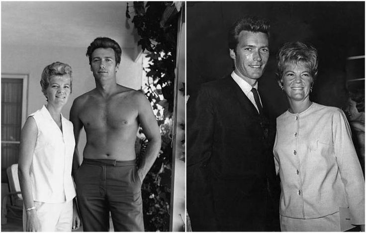 Clint Eastwood's then-wife Maggie Johnson