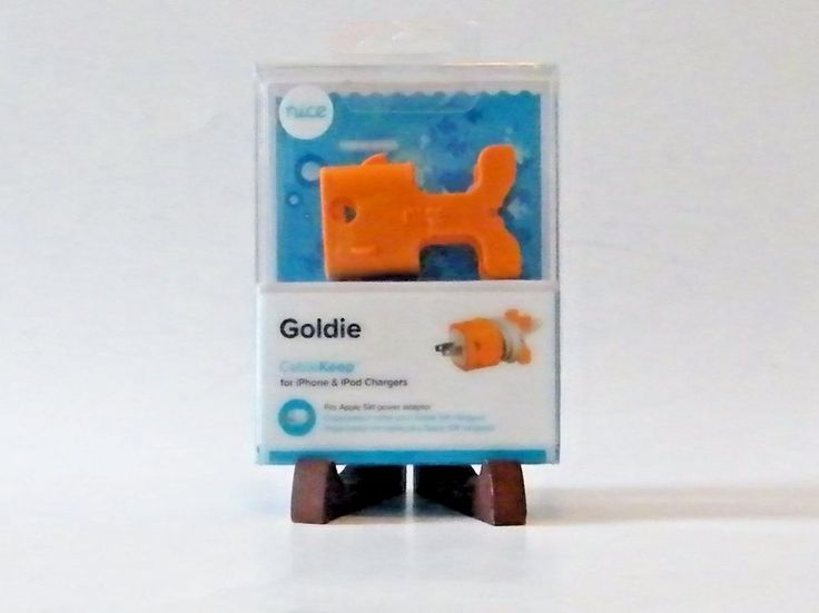Goldie Cable Keep Nice Inc Orange for iPhone iPod Chargers Power Adaptor #NiceInc
