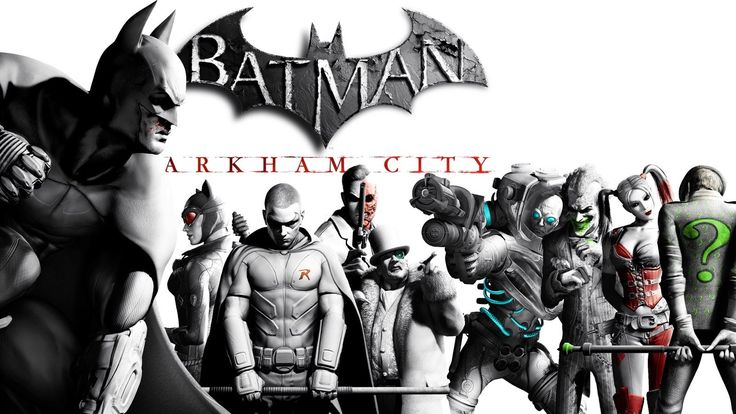 Batman: Arkham City [Game Movie]