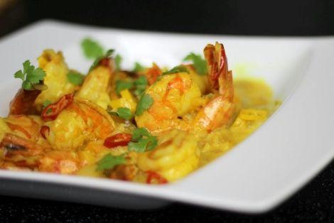 Krewetki Po Tajsku - Krewetki przygotowane według przepisu kuchnia tajskiej staną się przysmakiem na każdą okazję, smakowało? nie zapomnij skomentować:)