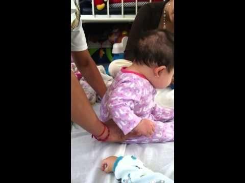 Ejercicios Bebe 4 meses - YouTube