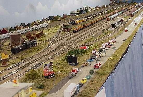 N Scale Shelf Track Plans   Model Railroad N Gauge Track Layouts