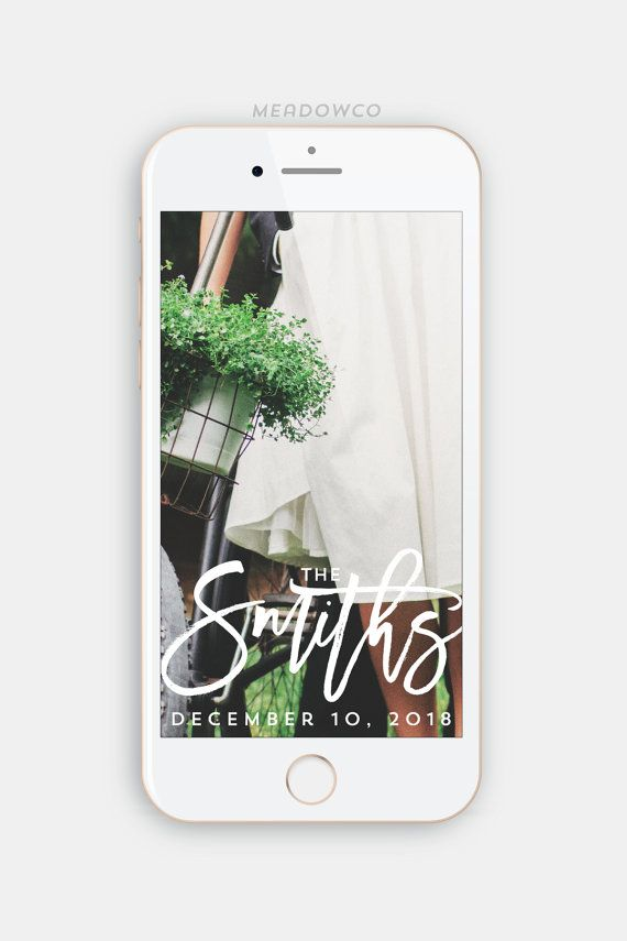It's no secret that wedding tech is on the rise! And of course it wasn't long before Snapchat got it's groove on with the ability to upload geofilters for your big day. Today I found you 50 kickass designs that will add that extra wow factor to all those awesome moments that you can't help but share! xox