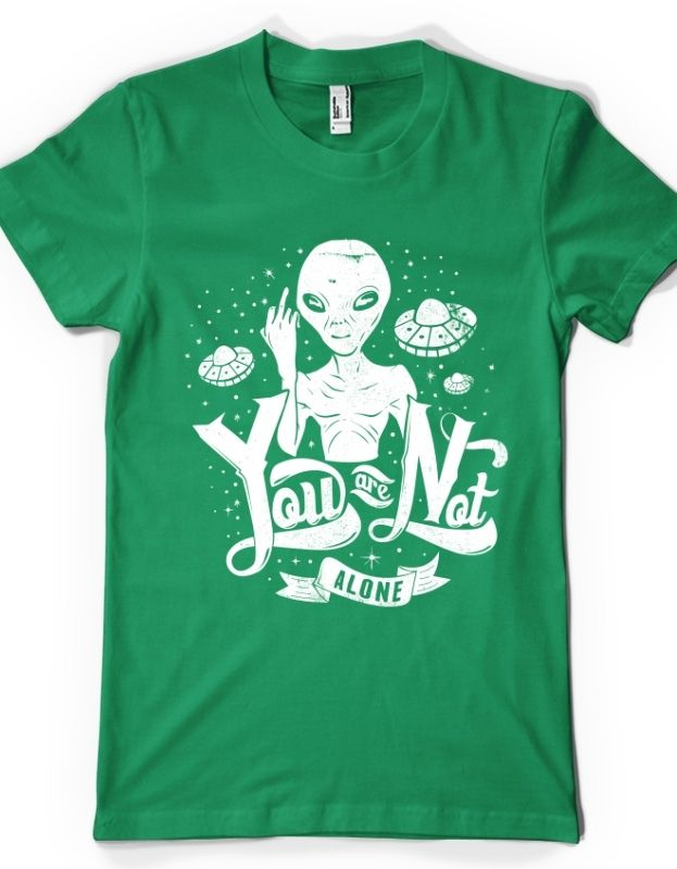"""Tricou """"You Are Not Alone"""""""