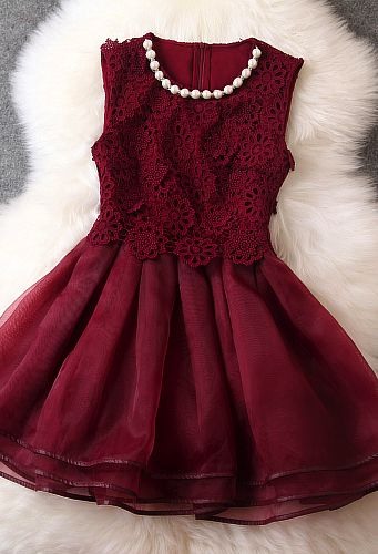 Gorgeous Embroidered Lace Dress I LOVE THIS DRESSSS!!!!:D