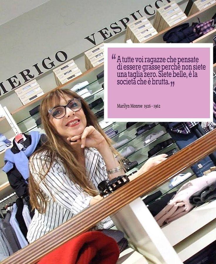 >> Una citazione per voi <<  Dalle parole di Marilyn Monroe...  #aforisma #modena #amerigovespucci   Seguici sulla nostra pagina Facebook: www.facebook.com/AmerigoVespucciAbbigliamento