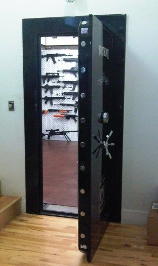 "This is what Paul wants in his :""man cave/ gun room"""