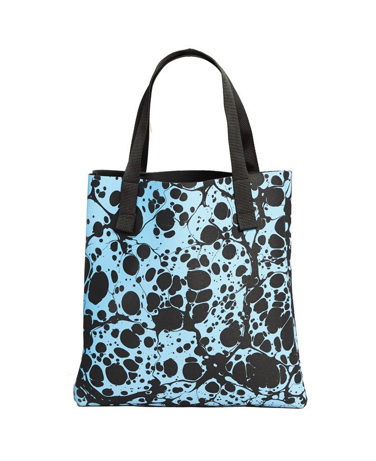 Witu – Classic Habitat tote revamped with amazing Marble print in collaboration with Souvenir Society. witu.com.au