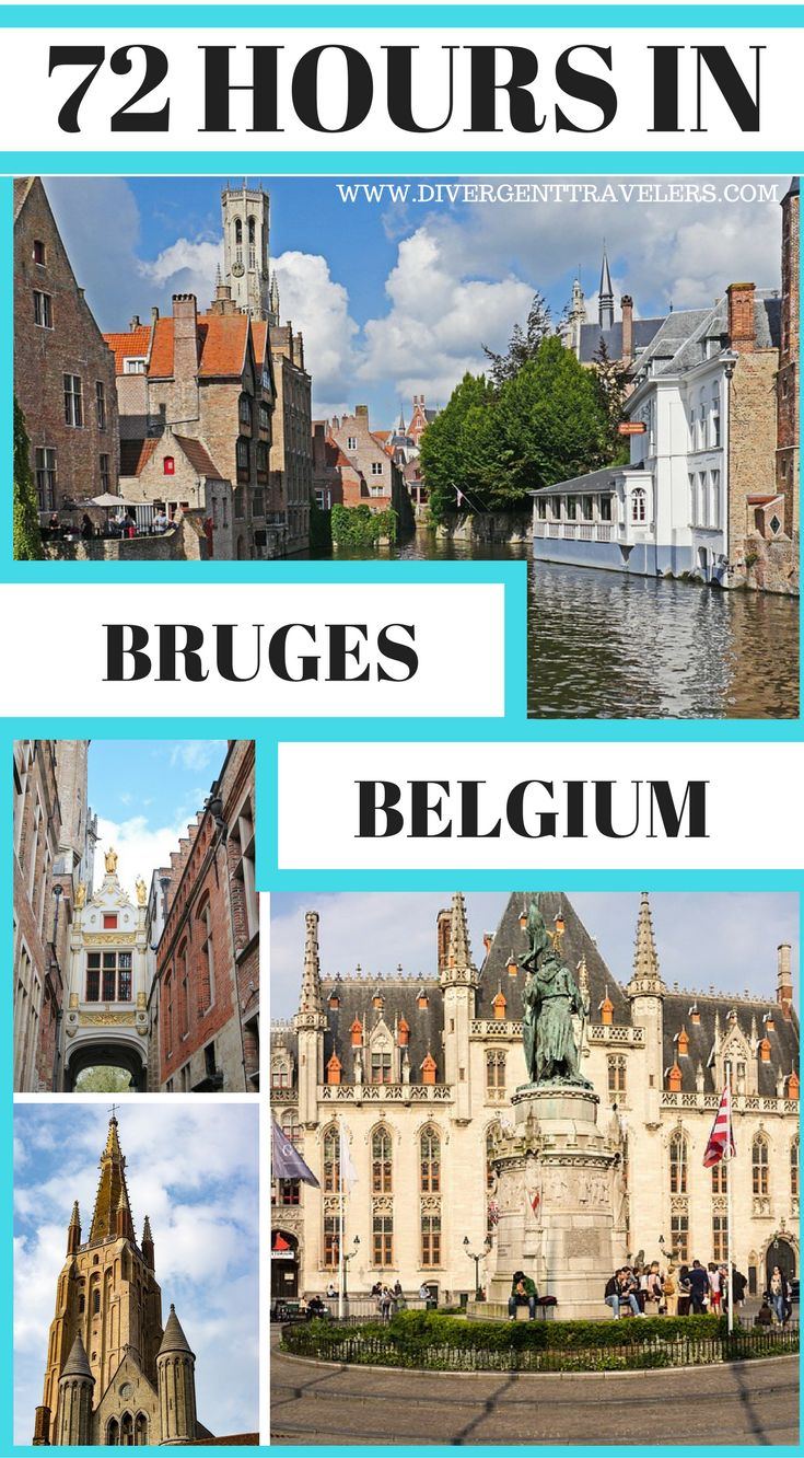 72 Hours in Bruges, Belgium. Planning a trip toBruges, Belgium? Use our72-hour Brugesvacation travel guide for the perfect long weekend itinerary, including the best accommodations, attractions and restaurants. Click to read: 3 Days in Bruges – What to do in Bruges #Bruges #Belgium #Travel #Guide