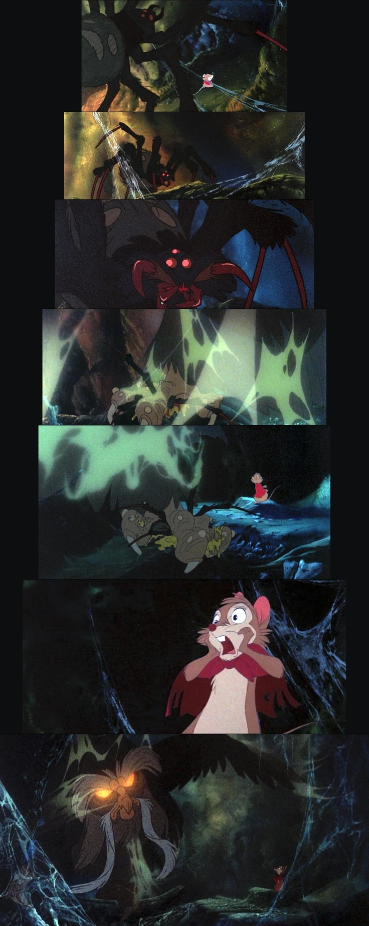 The Secret of NIMH. This scene has so much character. One of Bluth's best.
