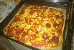 Pizza teljes kiőrlésű liszttel