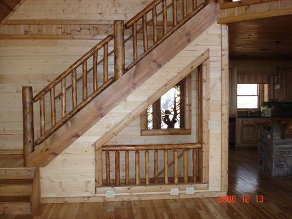 Beautiful Open Staircase To Basement | Open Entry To Basement Mtn High Open