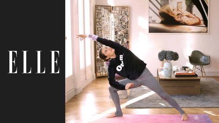 Le yoga débutant pour s'initier ┃ELLE Yoga - YouTube