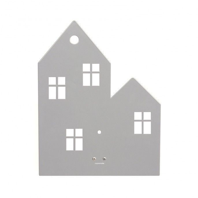 Epic Town House Wandleuchte Grau