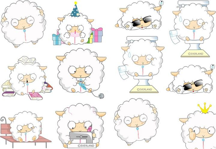 Imagenes de Dibujos de ovejitas tiernas | ovejitas | Pinterest ...