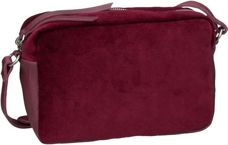 Taschenkaufhaus Liebeskind Jolanda Wine (innen: Braun) - Umhängetasche: Category: Taschen & Koffer > Umhängetaschen > Liebeskind…%#Taschen%