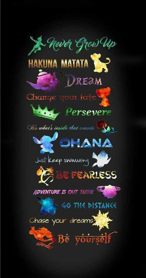 fond d'écran iphone Ces citations de Disney sont si parfaites qu'elles vous feront pleurer. #DisneyQuotes #Disney