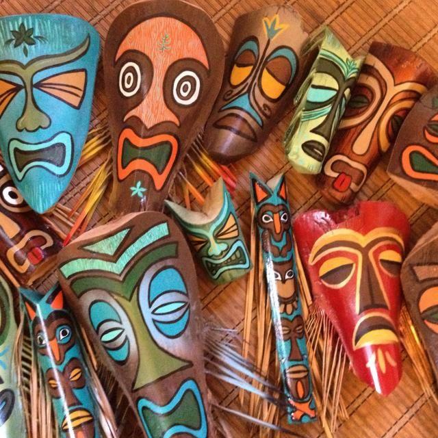Handmade Tiki Masks By Schroederville -- Tiki Central