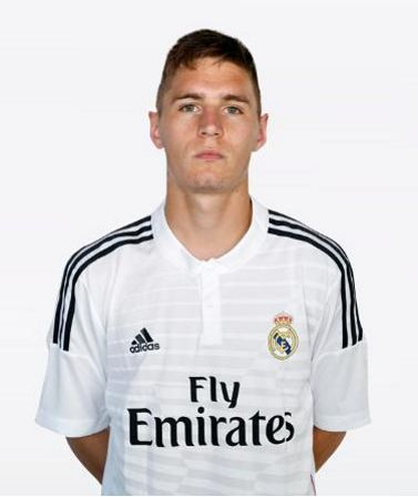 Guillermo Varela made his debut for Real Madrid's reserves after completing a loan move