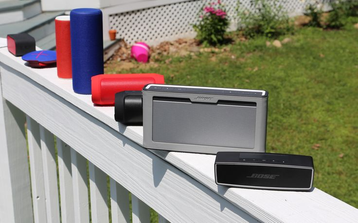 Lto R: UE Mini(review), Roll(review), Boom (review)and Megaboom(review), JBL Charge 2+(review)andCharge 2(review), Bose Soundlink III(review) and Soundlink Mini 2(prev review) There's not...