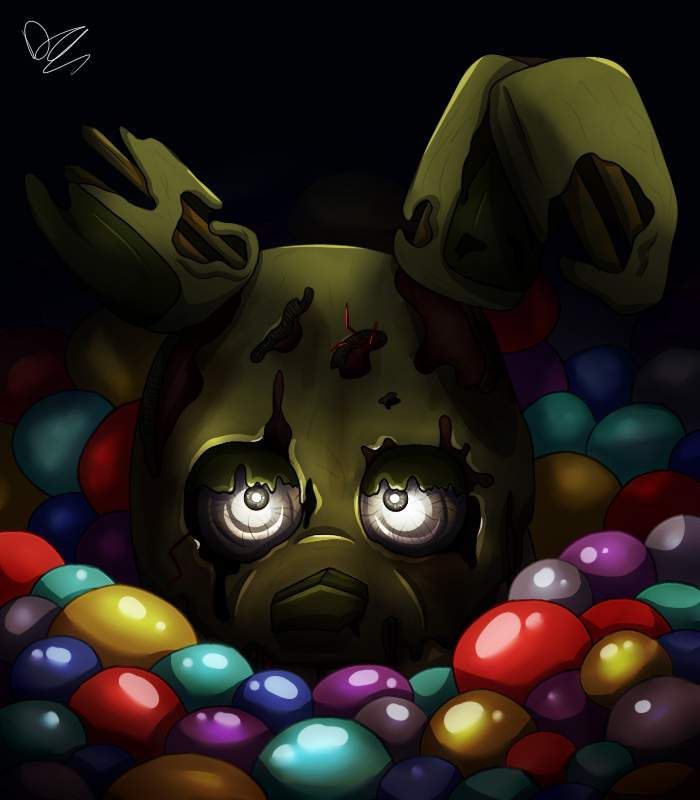 Into The Pit But It S Springtrap Five Nights At Freddy S Amino Fnaf Wallpapers Fnaf Drawings Fnaf Art