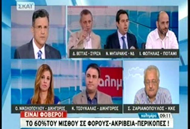 Συνέντευξη στο ΣΚΑΪ: Το θέμα αλλαγής του εκλογικού νόμου δείχνει τον εκνευρισμό της Κυβέρνησης - http://goo.gl/oloZCo #skai #syriza #forologia