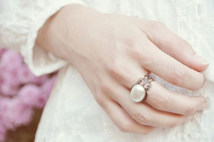 "Vintage ring ""nostalgic""      w Madeleine-Issing na DaWanda.com"