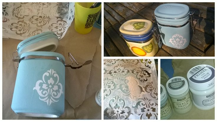 #Diy #pentart #paint #stencil