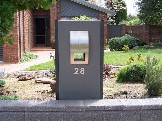 Melbourne Clotheslines & Letter Boxes - Maddison Freestanding Letterbox, Outdoors - Fencing & Gates - Letterboxes & Numbers - Letterboxes