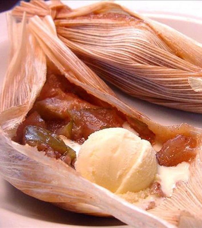 Sweet Apple Dessert Tamales