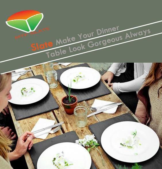 & Slate tableware | Slate Tableware | Pinterest | Tablewares and Slate