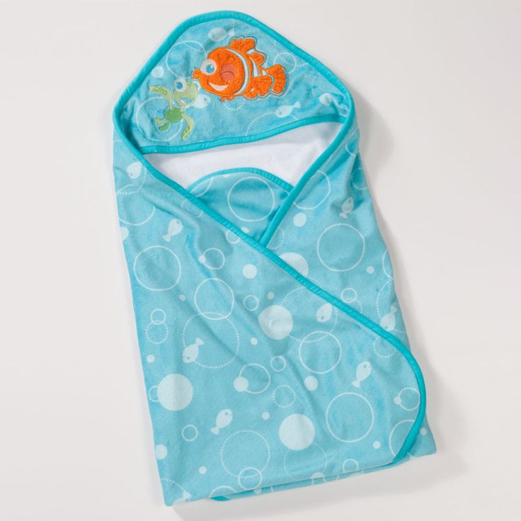 Finding Nemo Bath Towel Set: 98 Best Images About Hooded Towels On Pinterest