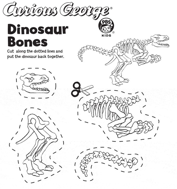 Free Printable Dinosaur Crafts | 2013 Universal Studios and/or HMH. ALL RIGHTS RESERVED. | PBS KIDS ...
