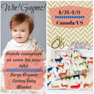 Bonjour Baby Baskets Tirage / Giveaway